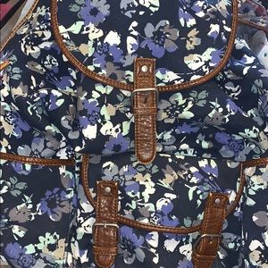 Aeropostale Floral Backpack